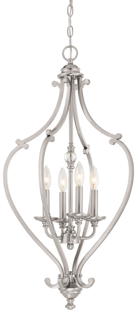 Minka-Lavery 3333-84 - 4 Light Chandelier