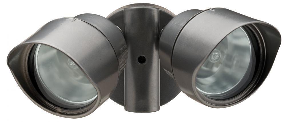 Light Concepts (Lithonia) OFTR 200Q 120 LP BZ - Two Light Bronze Directional Wall Light