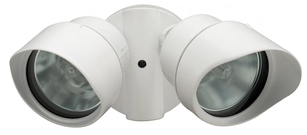 Light Concepts (Lithonia) OFTR 200Q 120 LP WH - Two Light White Directional Wall Light