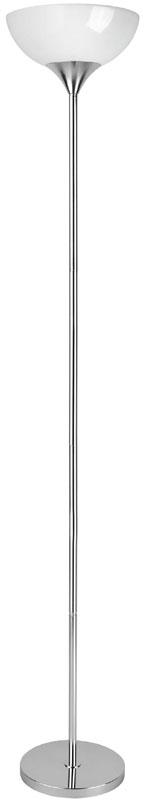 Lite Source Inc. LS-8540C/WHT - #Torchiere Lamp, Chrome/White Acrylic Shade, E27 Cfl 23W
