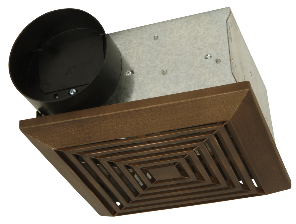 "Teiber Lighting Products TFV50B - 50 CFM Bath Vent - Builder Pack w/ 4"" Ada"