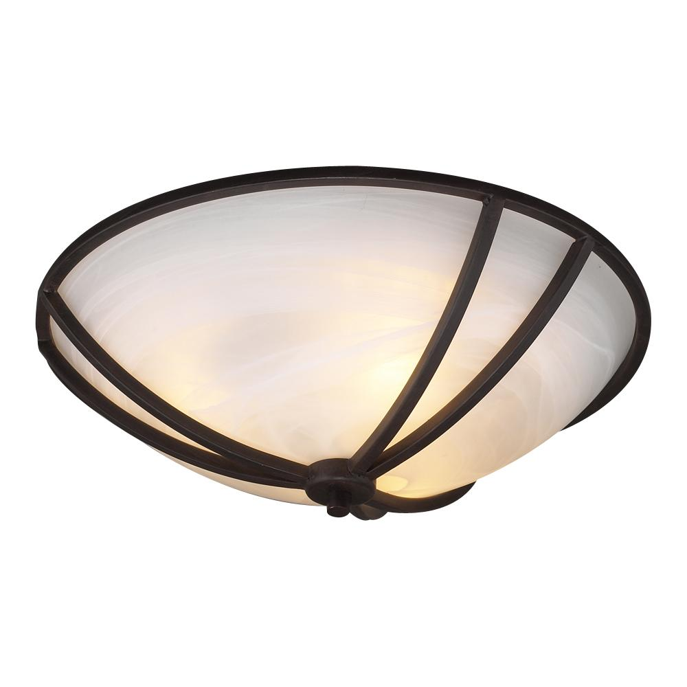 PLC Lighting 14863 ORB - PLC 3 Light Ceiling Light Highland Collection 14863 ORB