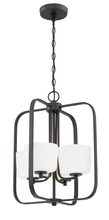 Craftmade 43534-ABZ - Clarendon 4 Light Foyer in Aged Bronze Brushed