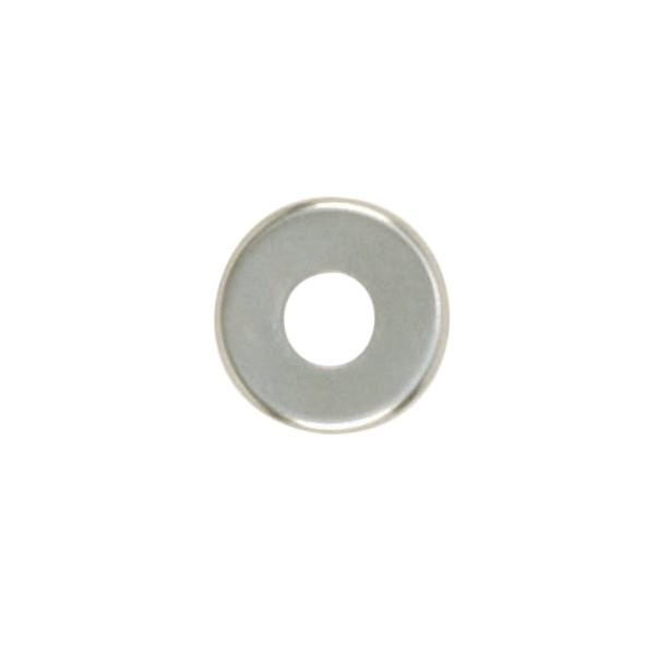 Satco Products Inc. 90/1095 - Steel Check Ring Curled Edge 1/8 IP Slip -Nickel Plated 11/4""