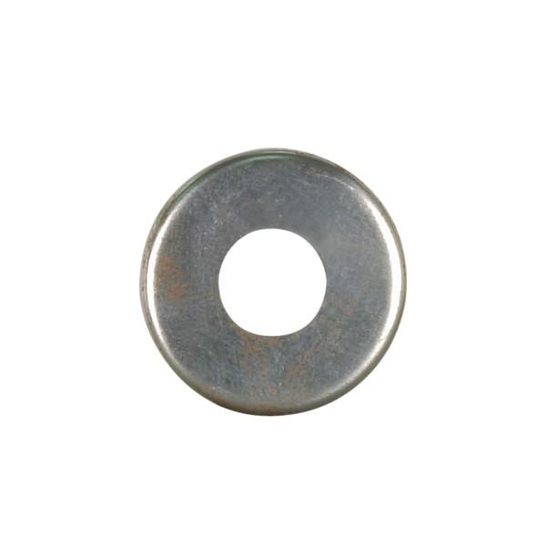 Satco Products Inc. 90/2074 - Steel Check Ring Curled Edge 1/8 IP Slip - Unfinished 1-3/4""