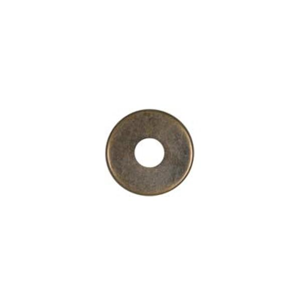 Satco Products Inc. 90/2182 - Steel Check Ring Curled Edge 1/8 IP Slip - Antique Brass 1-1/4""