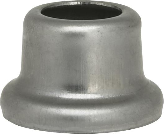 "Satco Products Inc. 90/2213 - Flanged Steel Necks 1/2"" Height-7/8"" Bottom Unfinished Plated"