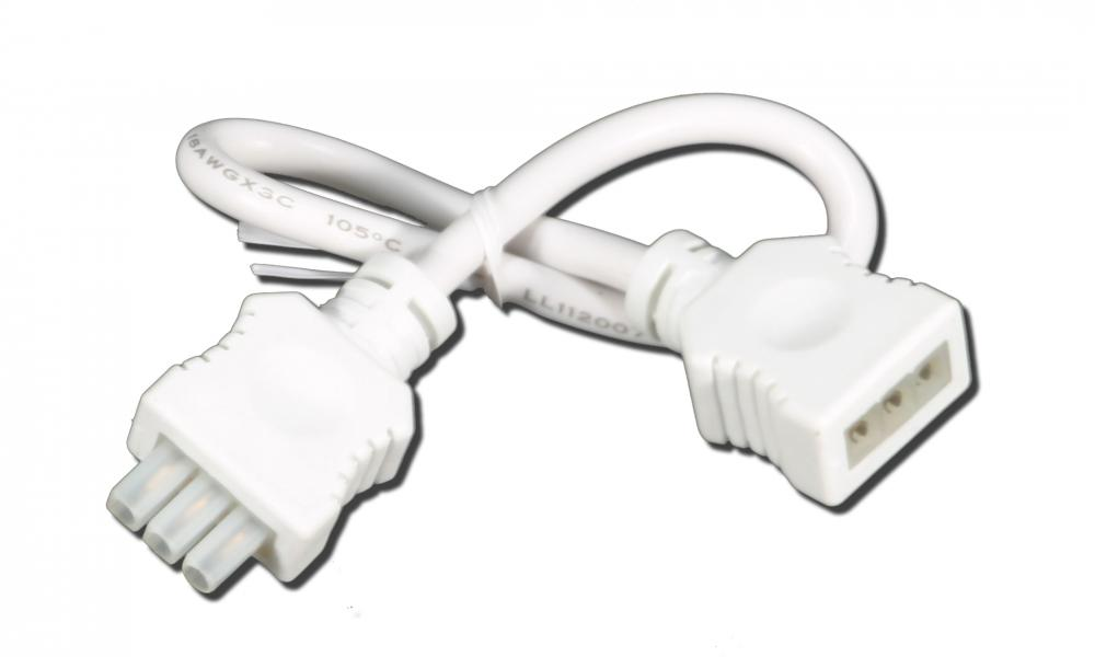 American Lighting 043A-24-EX-WH - PRIORI White 24-Inch Extension Cable for T2 Under Cabinet Light