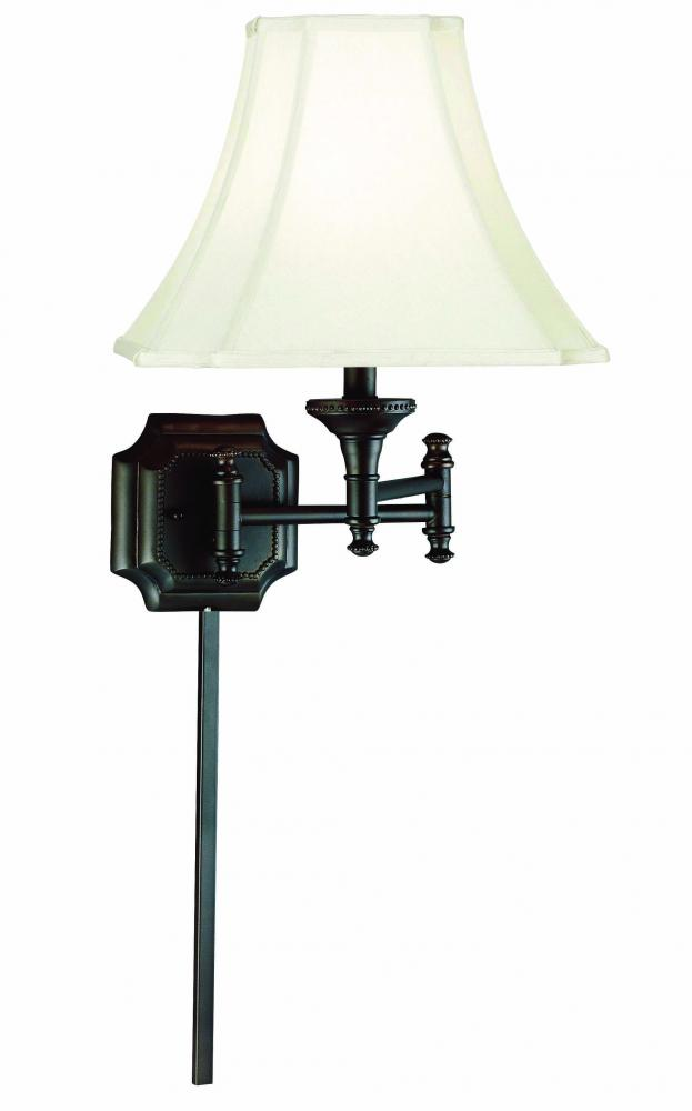 Kenroy Home 33054BBZ - Wentworth Wall Swing Arm Lamp