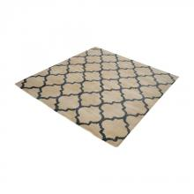 Dimond 8905-054 - Wego Handwoven Printed Wool Rug In Natural And B