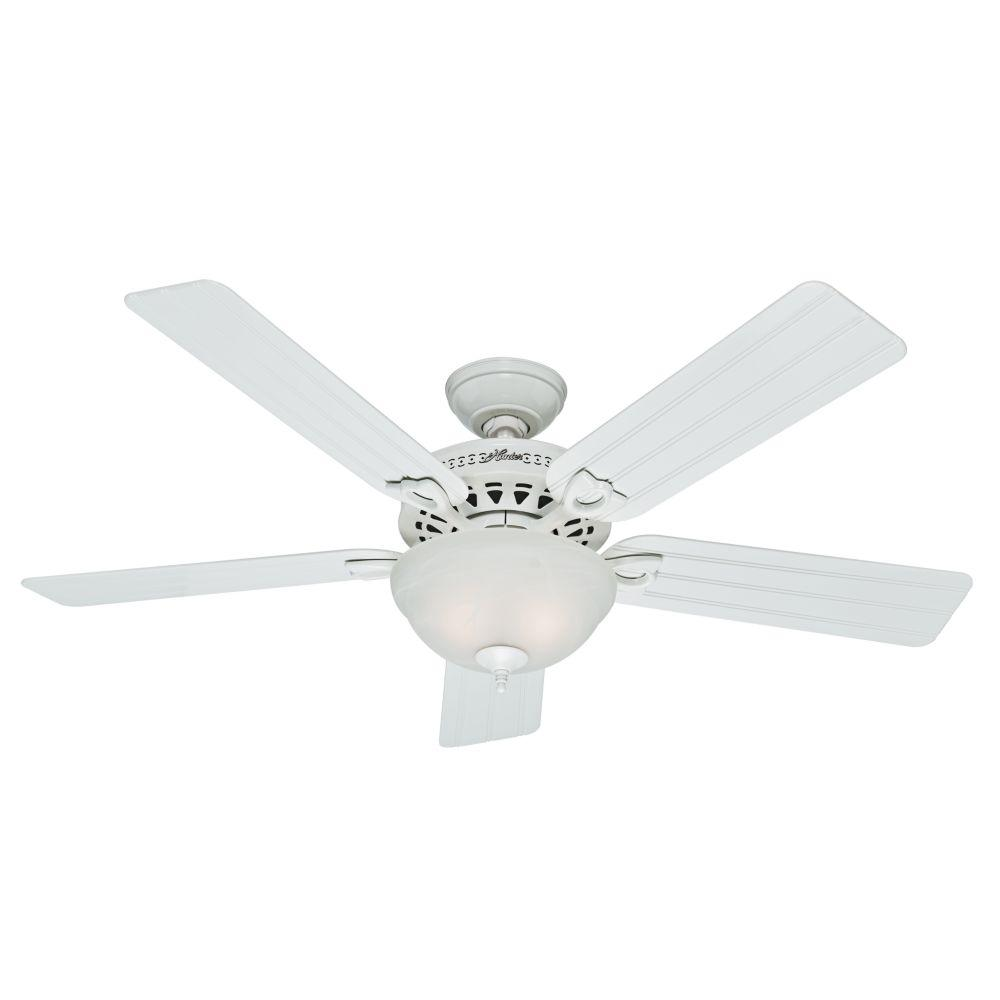 "Hunter Fan Co. 53122 - 52"" Ceiling Fan with Light"